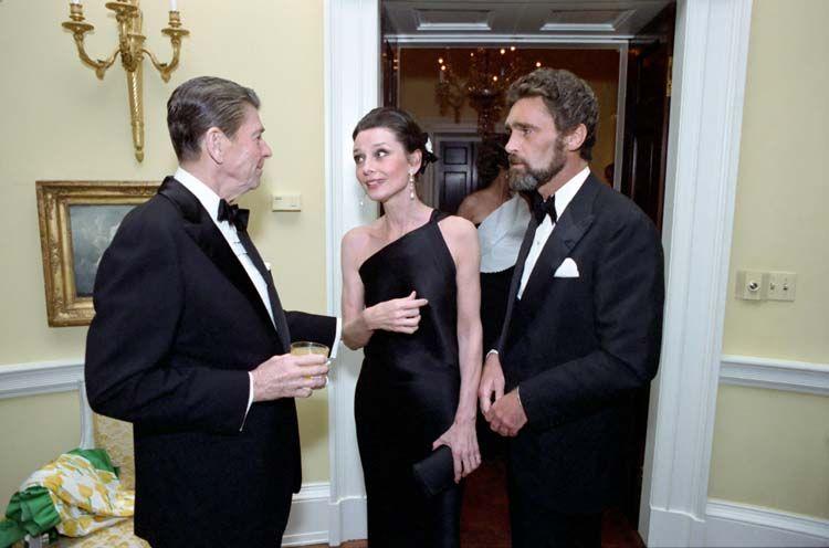 Audrey Hepburn Ronald Reagan