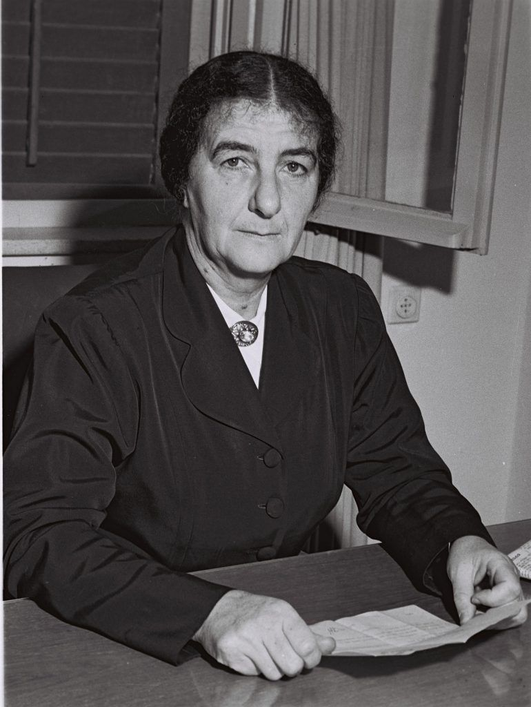 Golda Meir Minister