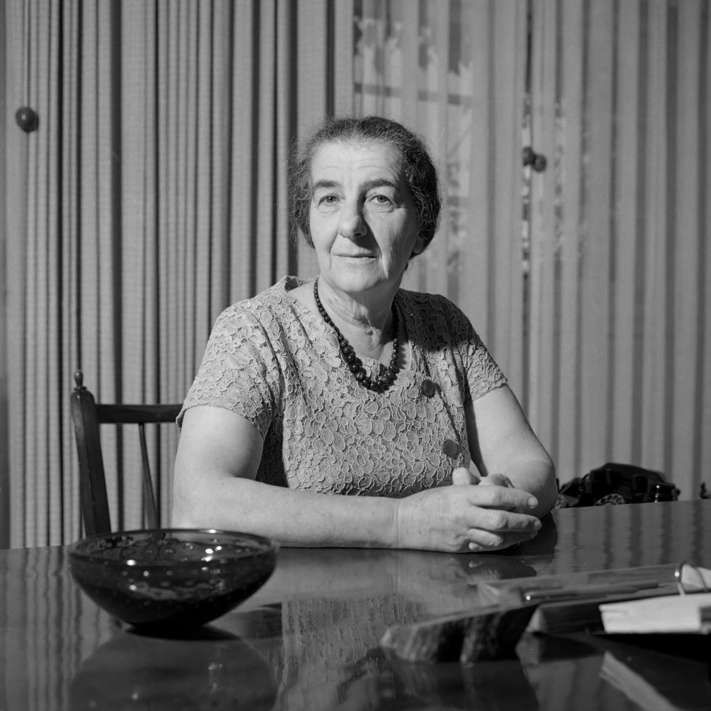 Golda Meir Minister 1964