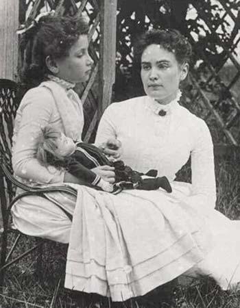 HelenKeller Anne Sullivan