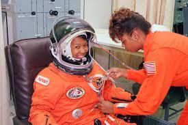 Mae Jemison space suit