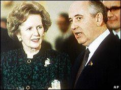 Margaret Thatcher Gorbachov