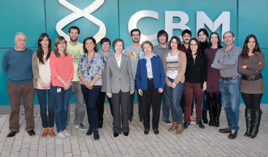 Margarita Salas y colaboradores