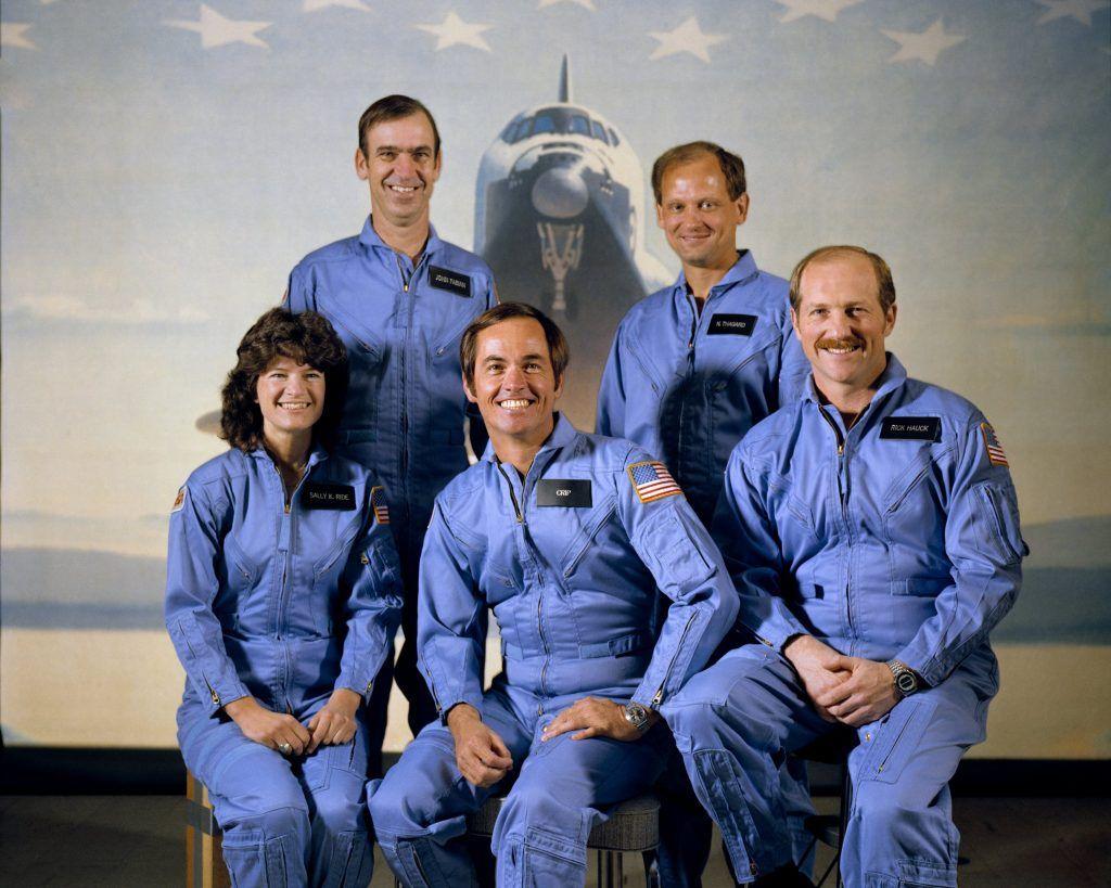 Crew STS-7 SallyRide