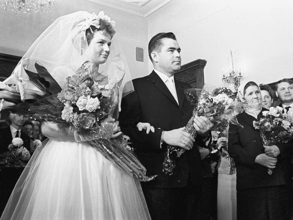 Boda de Valentina Tereshkova