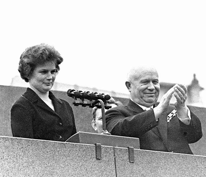 Valentina Tereshkova Nikita Krushev