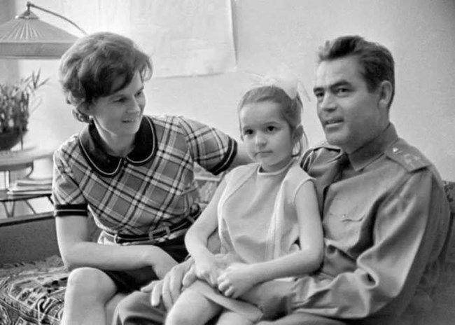 Valentina Tereshkova hija esposo