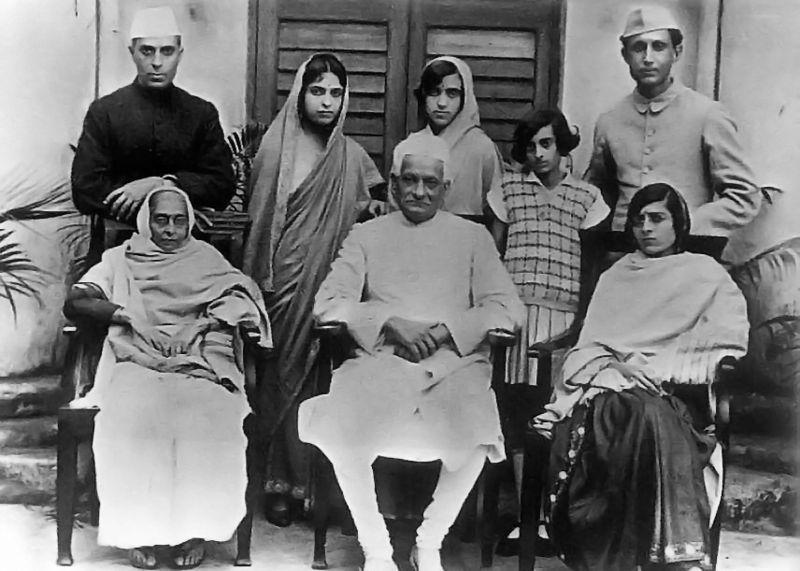 Familia Nehru