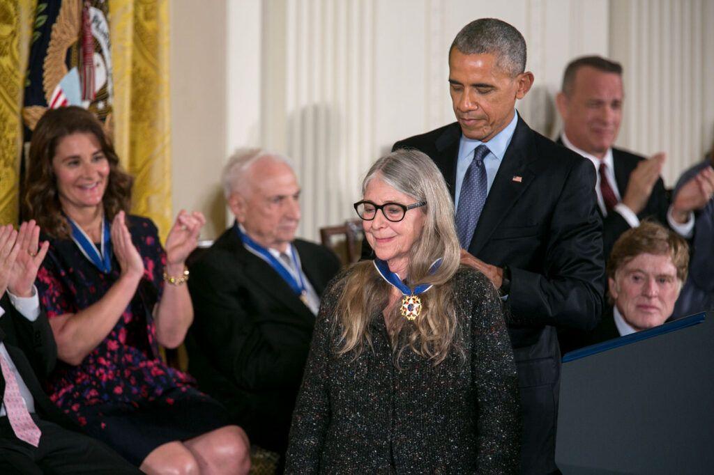 Margaret and Obama