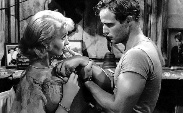 Vivien and Marlon Brando