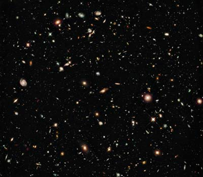 Billions galaxies