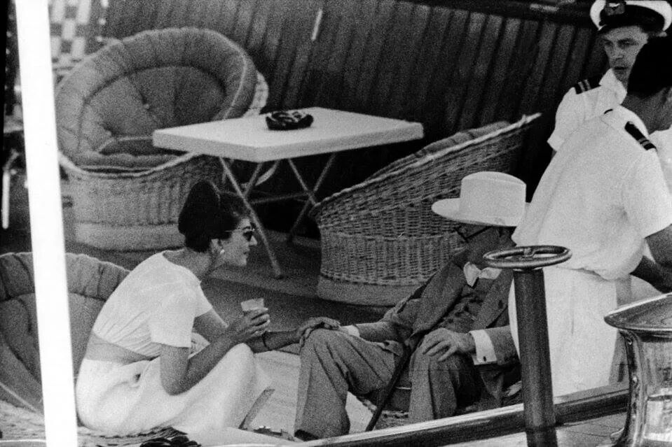 Callas and Churchill