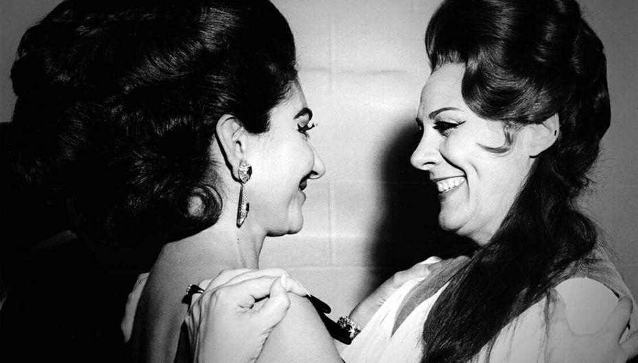 Callas and Tebaldi