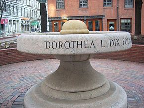 Fountain Dorothea Dix