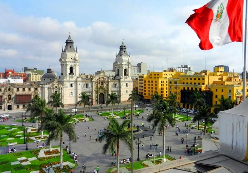 Plaza Lima Perú