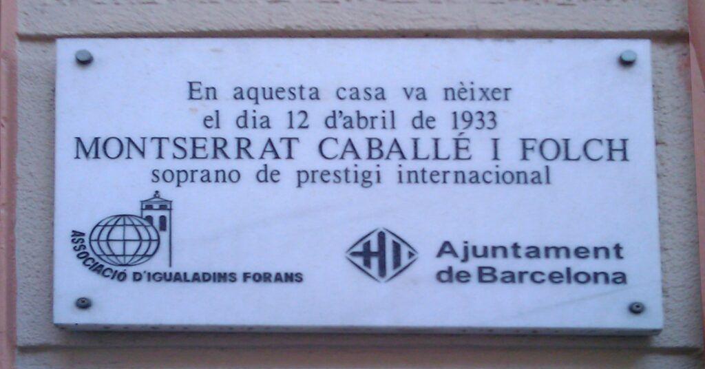 Placa Montserrat