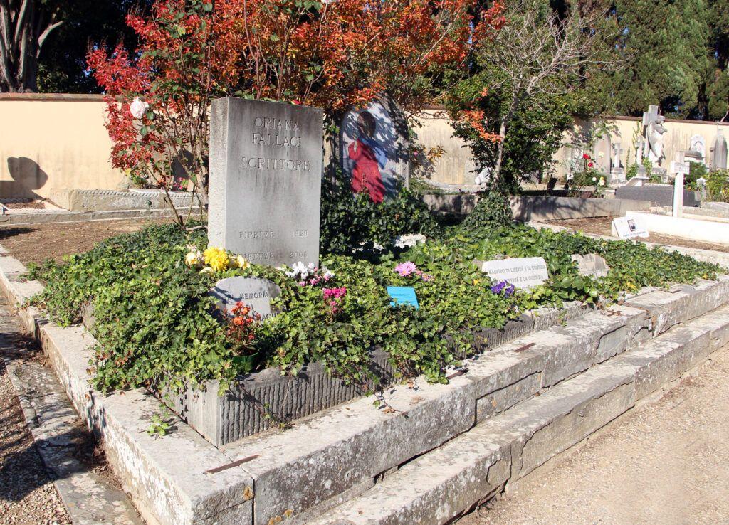 Cemetery Oriana Fallaci