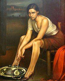 Painting Romero de Torres