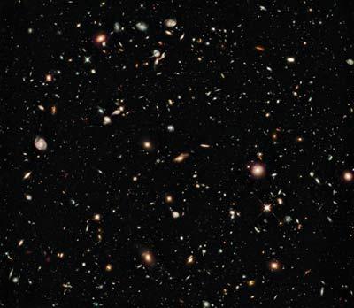 Millions galaxies