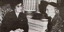 Eva Peron and Golda Meir