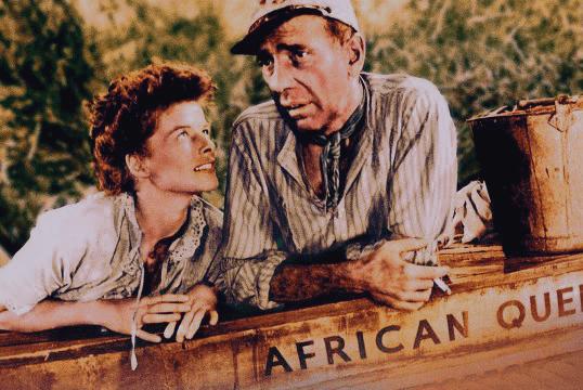 Katherine Hepburn Humphrey Bogart