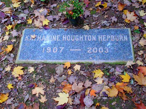 Grave Katherine Hepburn