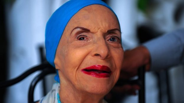 Alicia Alonso old