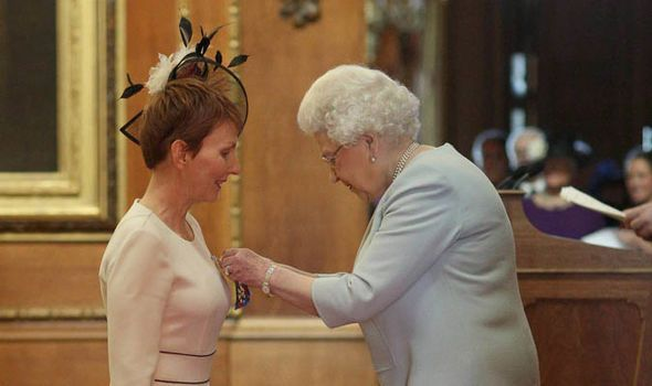 Helen Sharman Queen Elizabeth