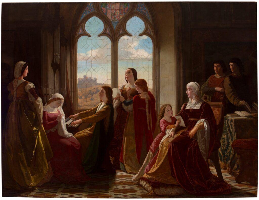 Isabel la Católica children