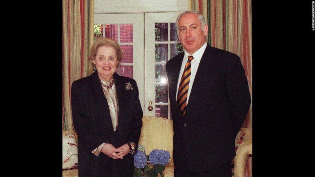 Madeleine and Netanyahu