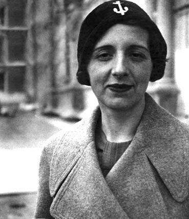 María Zambrano in the 1930s