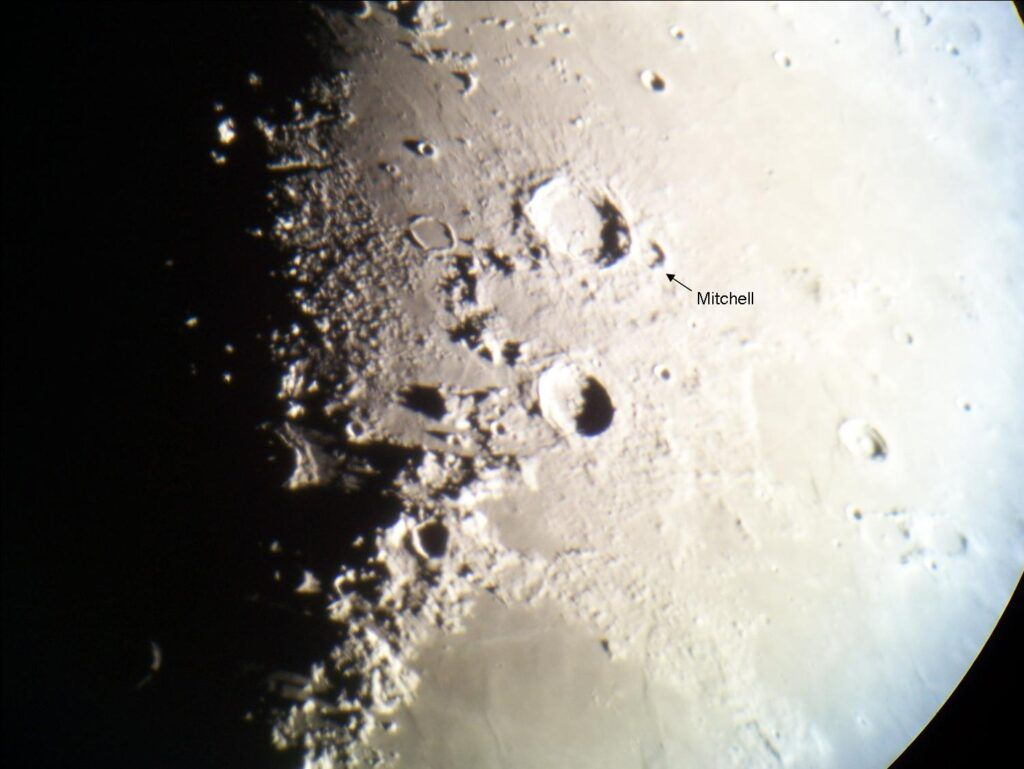 Crater Mitchell