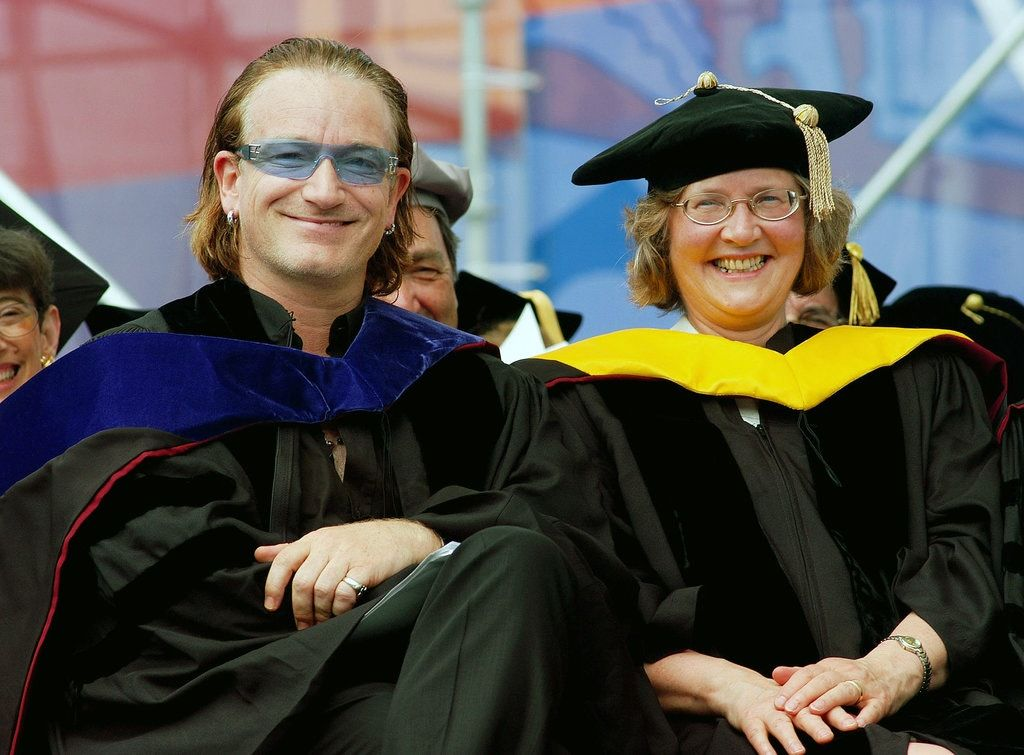 Elizabeth and Bono
